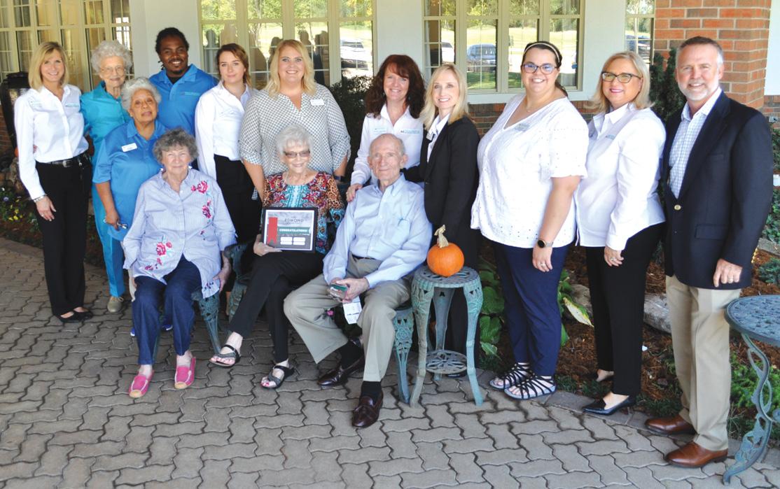 Tealridge Celebrates Homecoming Senior News And Living